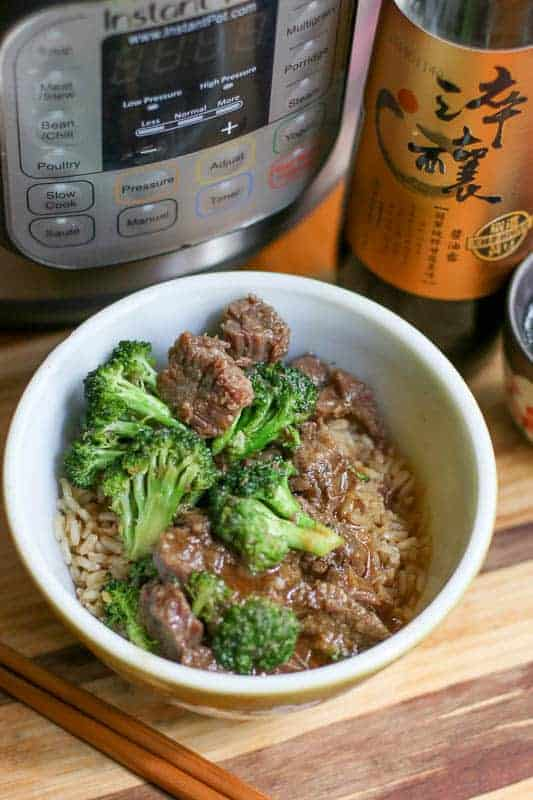 Easy Instant Pot Beef and Broccoli Recipe