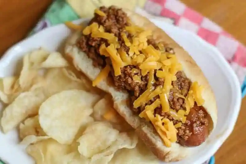 Easy Instant Pot Southern Hot Dog Chili Recipe
