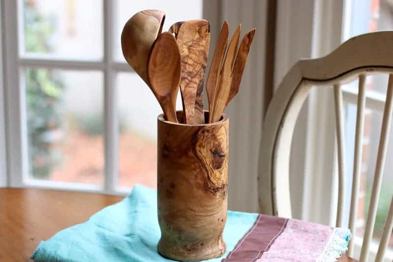 Handcrafted Olive Wood Utensil Set Review from Beldinest