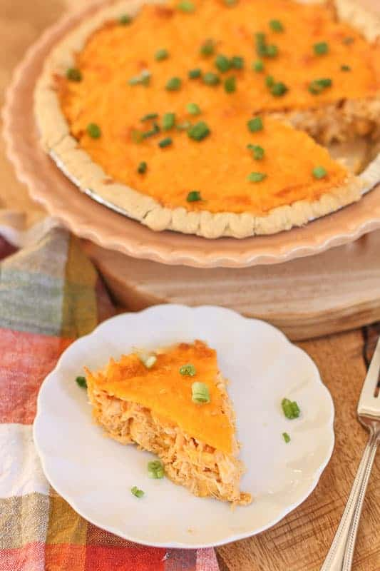 easy Buffalo Chicken Pie