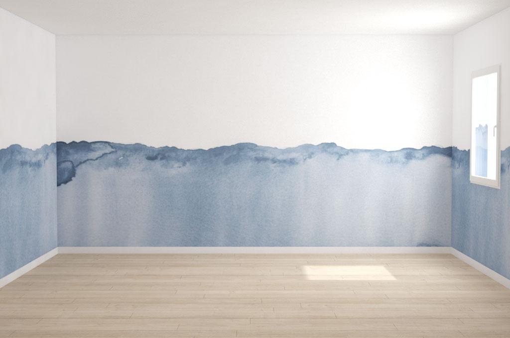 Da leroy merlin puoi trovare una pittura color carta da zucchero (con. Una Nuova Stanza Da Arredare La Camera Da Letto A Forma Di Casa