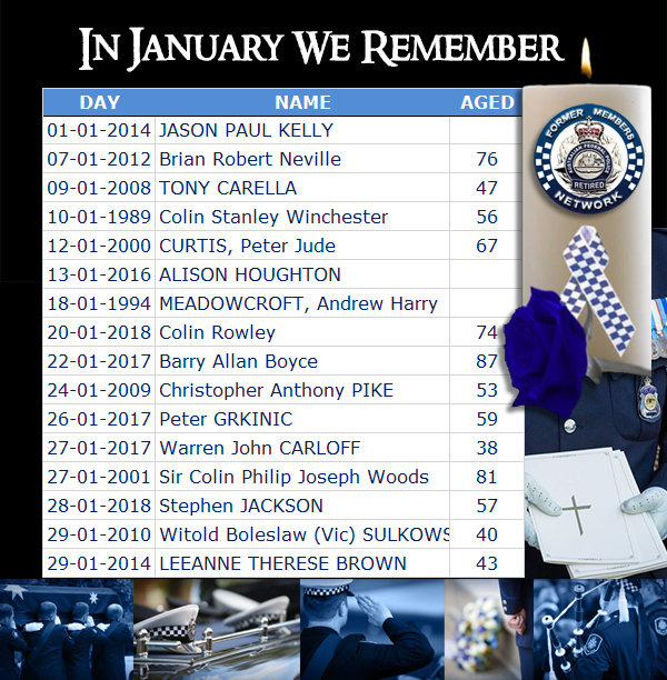In January We Remember