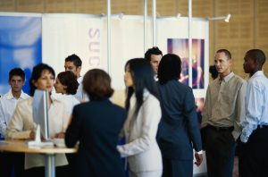 A successful trade show hinges on efficient logistics planning.