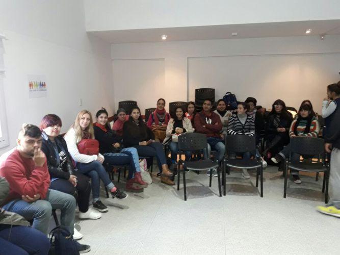 Jornada de Reflexión entre estudiantes del ISPI N° 9105 e ISPI N° 4031
