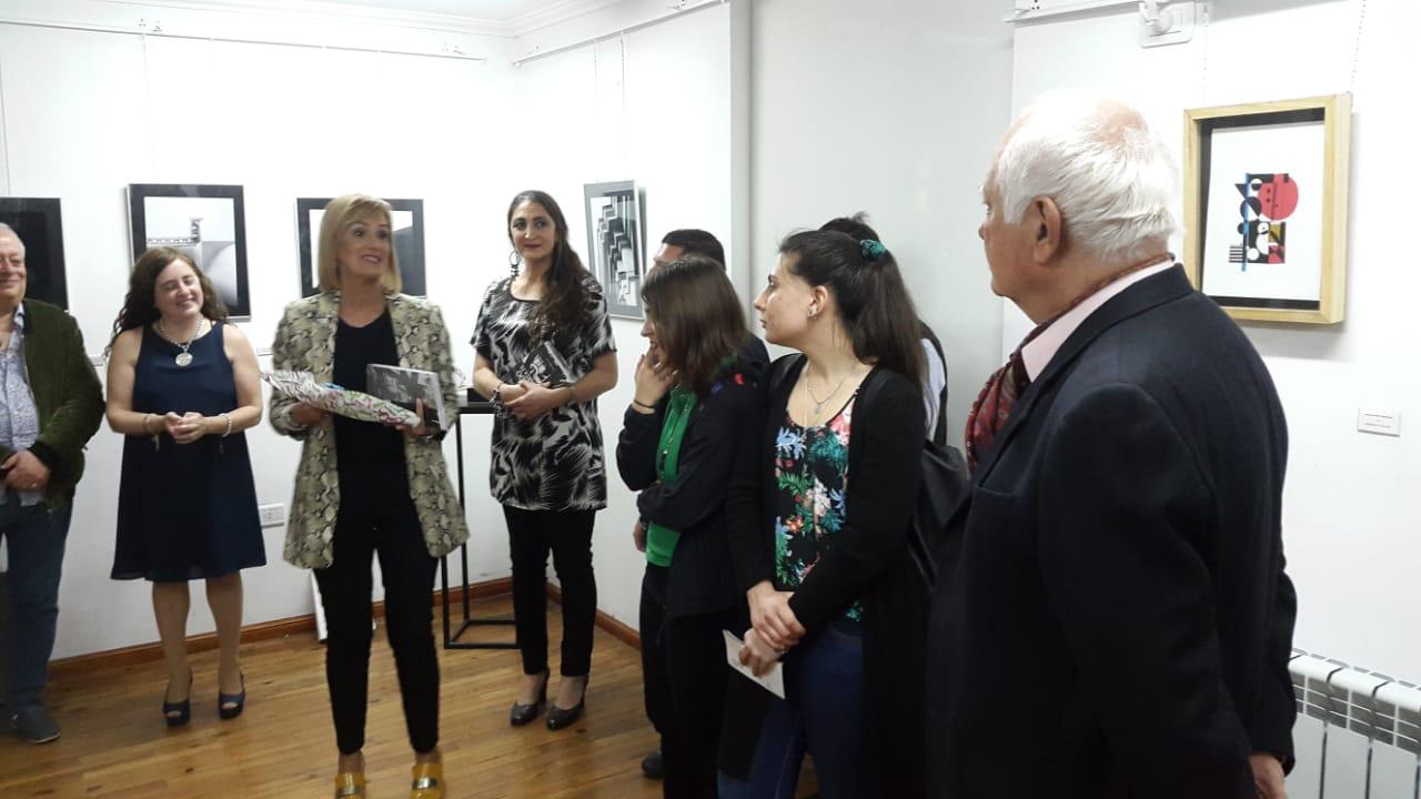 Inauguración de la Muestra «Mi Geometría Sagrada»