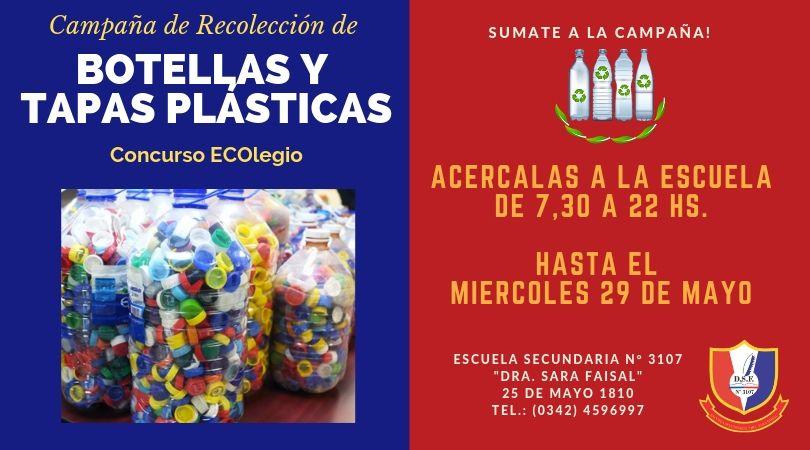 Colecta de Botellas y Tapas Plásticas