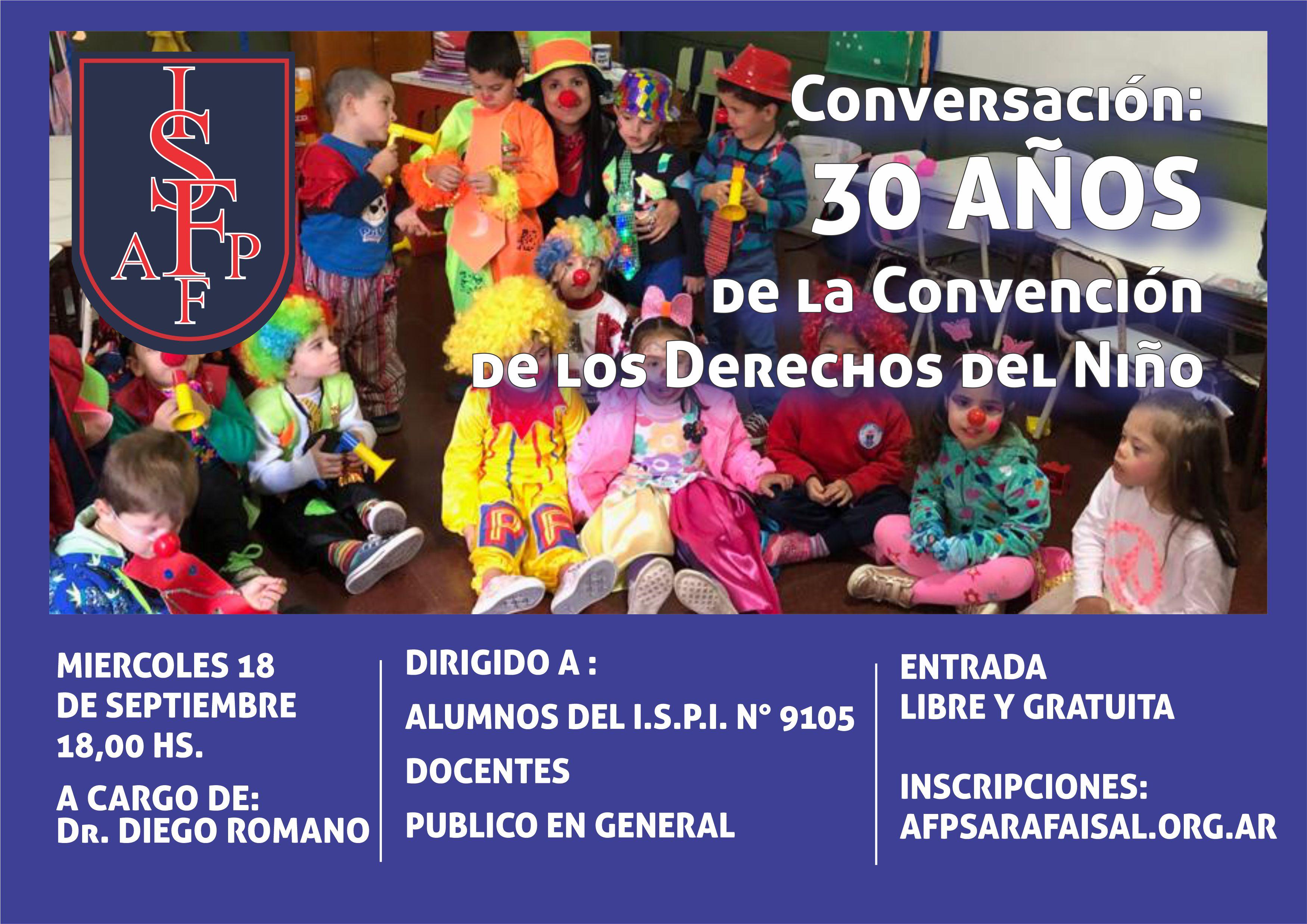 Conversación: 30 Años de la Convención de los Derechos del Niño