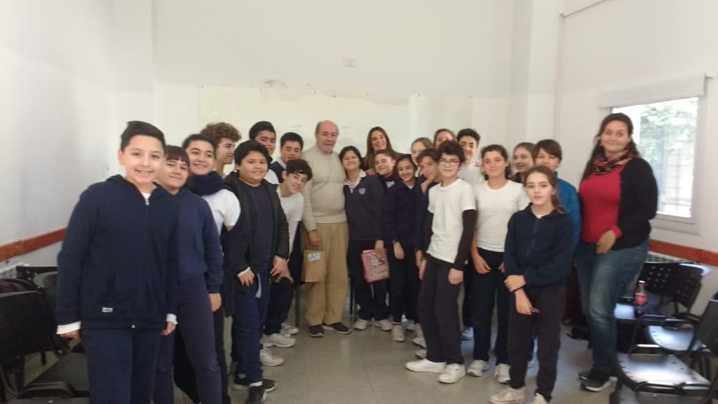 Visita de Jorge Ricci