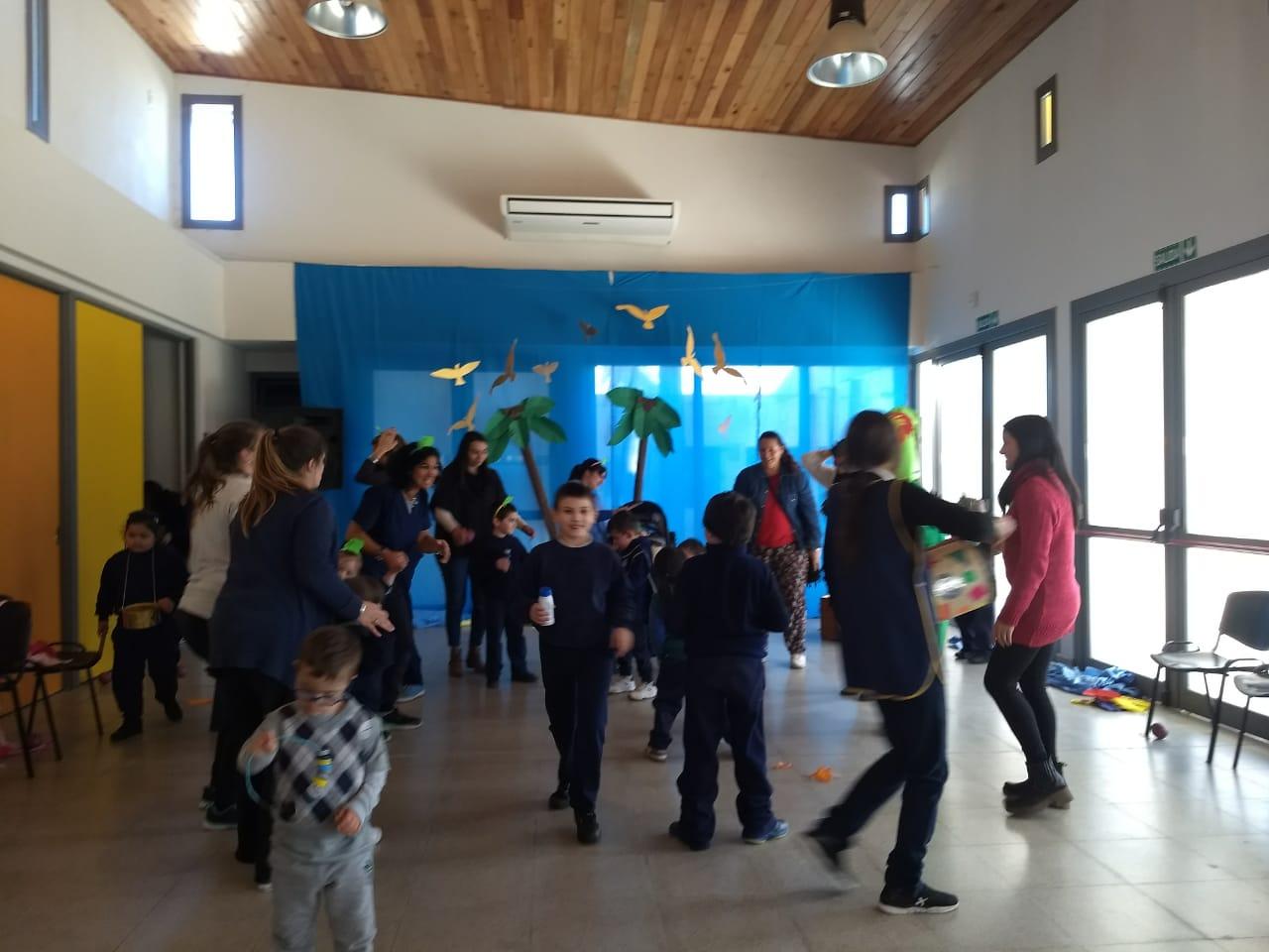 Festejos de la semana del Día del Niño