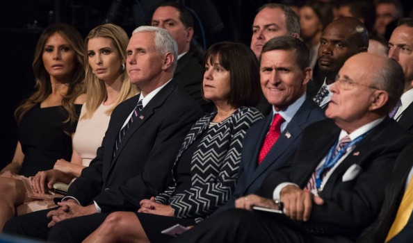 Image result for photos for donald trump and flynn