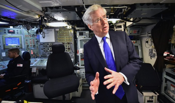 British Defence Secretary Michael Fallon wants to boost defence with Australia amid concern over North Korea and China.