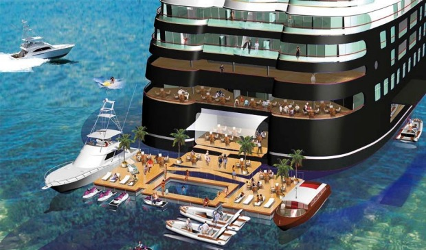 How To Get An Invite Onto The Worlds Biggest Megayacht