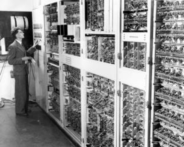 The world's fourth computer, CSIRAC, was built by the CSIRO in 1949.