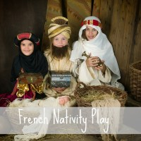 Nativity Play at Chapelle Sainte-Anne, Corlay, France