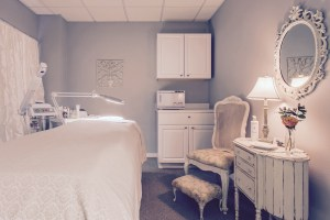 A French Touch Salon Treatment Room in San Luis Obispo, California