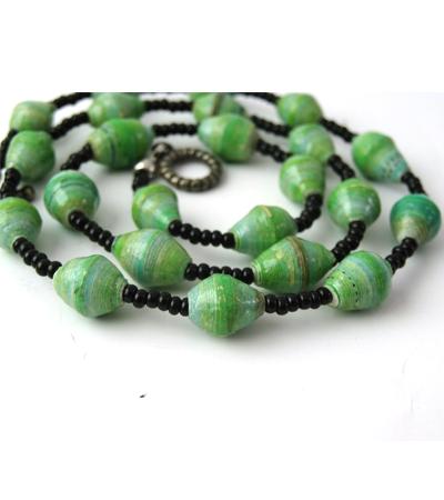 Handmade Posh Green Necklace