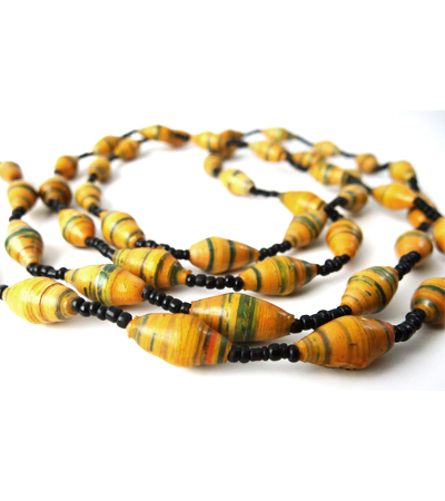 Handmade Luscious Brown Necklace