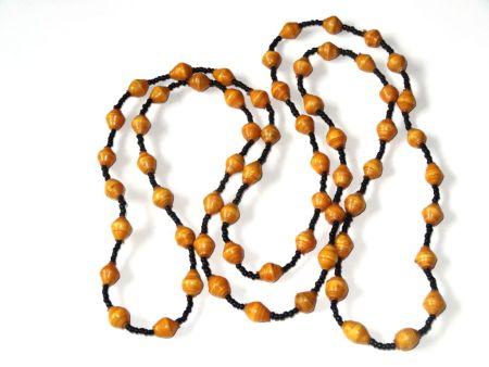Handmade Luscious Brown Necklace
