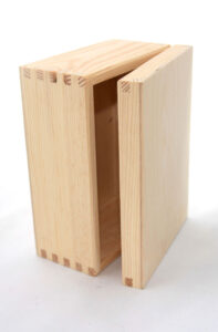 Handmade wooden gift box