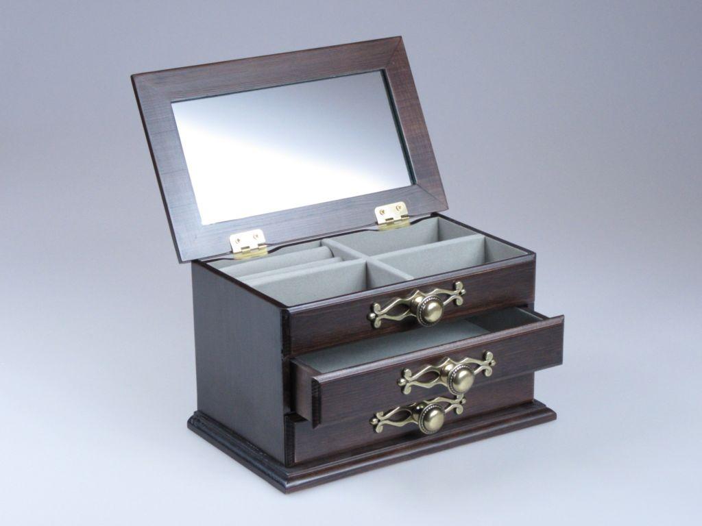 Handmade Walnut Casket Box by AfriArtisan Designs