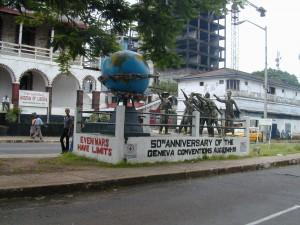 Monumento annversario convenzione Ginevra
