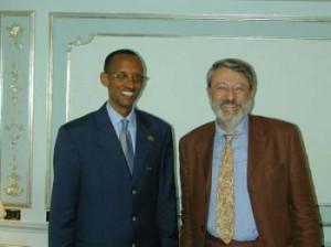io e Kagame
