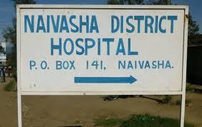 cartello ospedale Naivasha