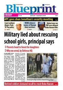 Giornale bugie militari