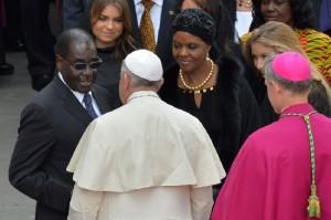 Mugabe-au-Vatican