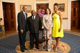 Obama e Ali Bongo