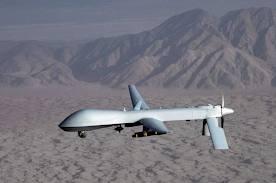 drone sul deserto