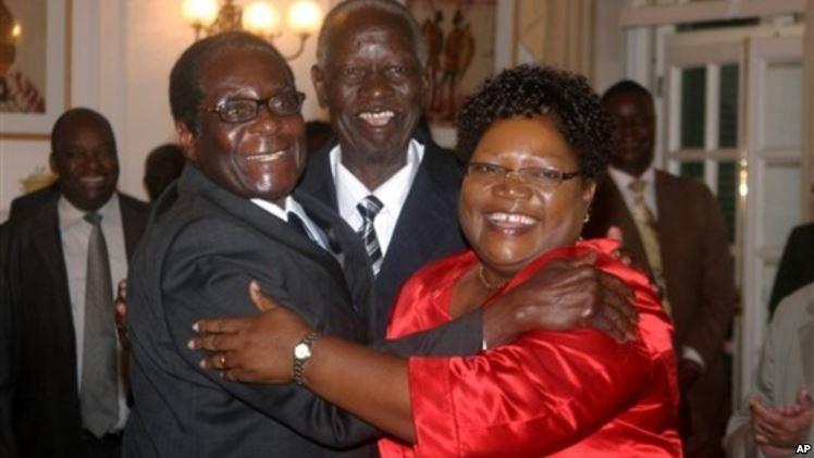 Mugabe e Wujuru