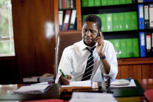 Edgar Lungu, presidente dello Zambia