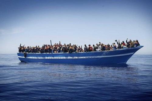 Migranti nel Mediterraneo centrale