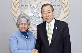 Pansieri e Ban Ki Moon