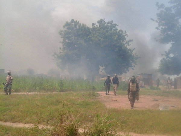 Militari delle Forze armate nigeriane (foto Defense Headquarters - https://www.facebook.com/DefenceInfoNG/)