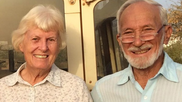 Jocelyn Elliott e il marito Ken