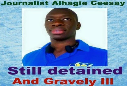 Alagie Abdoulie Ceesay poster