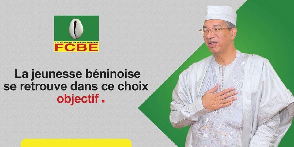 Il poster elettorale di Lionel Zinsou