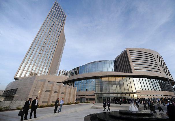 Il palazzo dell'Unione Africana ad Addis Abeba