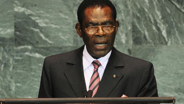 Teodoro Obiang Nguema Mbaso, presidente dittatore della Guinea Equatoriale
