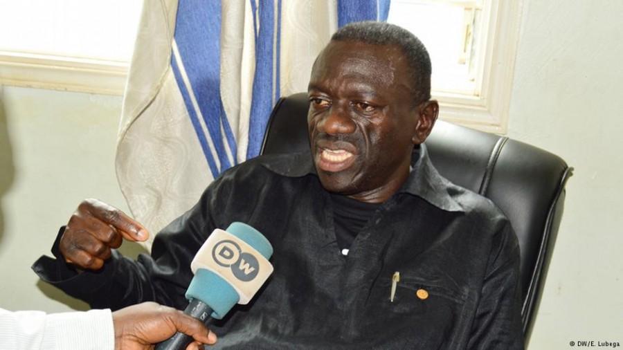Il leader dell'oppisizione Kizza Besigye