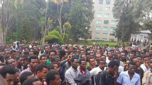 Ethiopian-Students-Protest-against-Addis-Ababa-Master-Plan