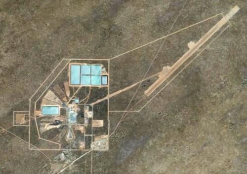 Attività di De Beers/Gope Exploration Company nel Central Kalahari Game Reserve