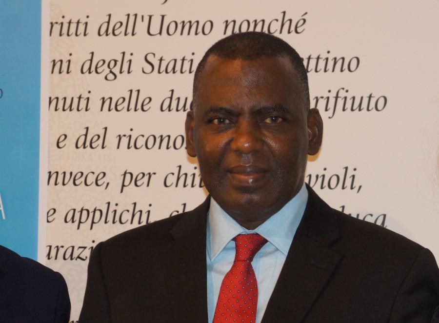 Biram Dah Abeid a Roma, 26 novembre 2016 [Foto - Andrea Spinelli Barrile]