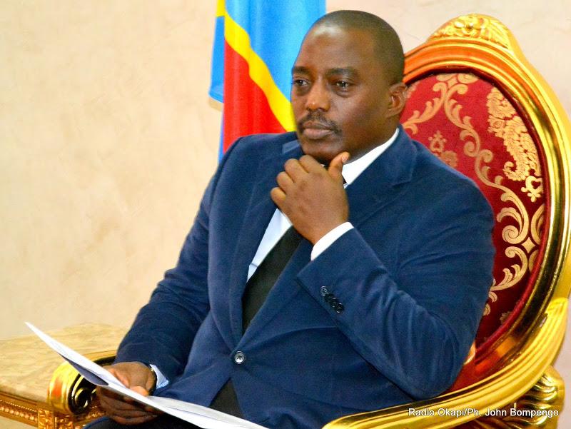 Il presidente con goles Joseph Kabila