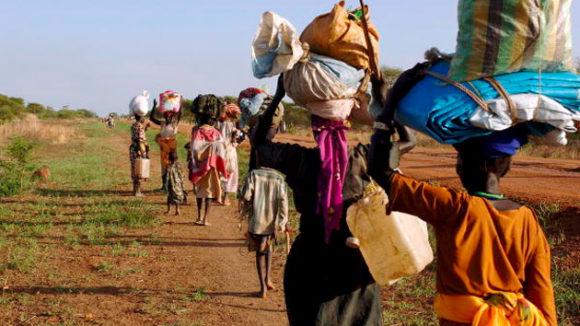 sfollati in Africa