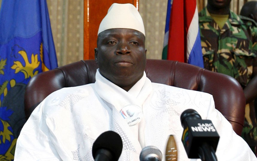 Yahya Jammeh, presidente Gambia