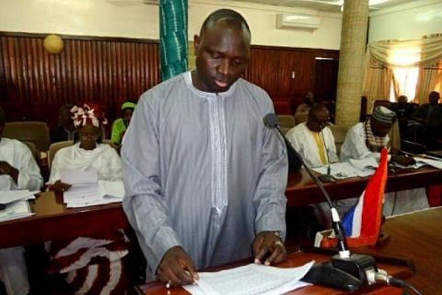 Ousman Sanko, ex ministro degli Interni del Gambia