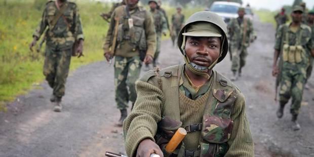 soldati dell'esercito del Congo-K